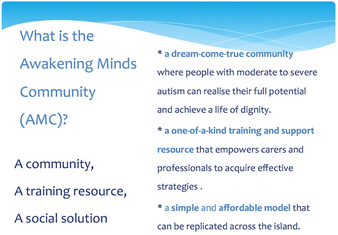 What is the Awakening Minds Community ?